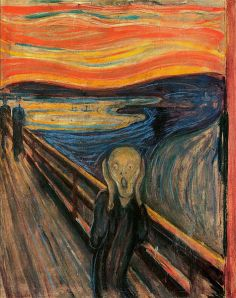 """""""Oh nooooooooo!"""" I like to imagine that is what he is screaming."""