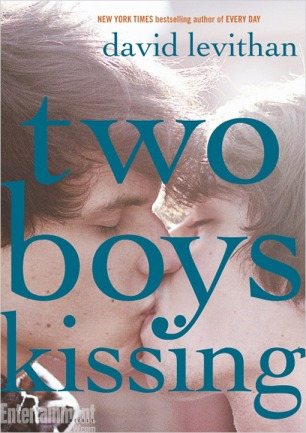 A picture of actual boys kissing?! Novel!