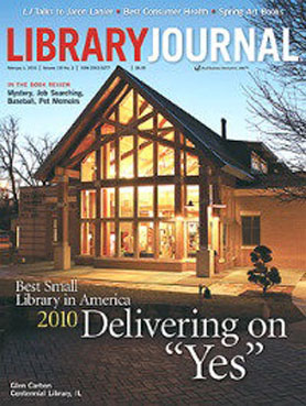 Ok, so the ONE time I read Library Journal is when they do the design/architecture awards because I like to look at the pretty libraries.