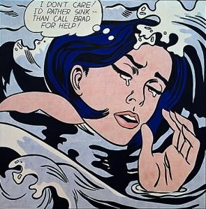 I think Lichtenstein is a good illustration for a high/low culture debate. What about pop art, huh, critics?!